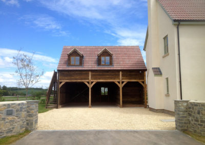 timber frame extension builders in Dorset